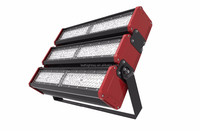 factory transformer 300w led modular flood light with Meanwell power