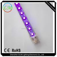 SMD 5050 warm white direct docking led rigid strip with frost cover wholesale