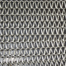 65 Mn spiral wire mesh belt for conveyor chain 304