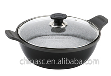 Induction cooker granite stone pot cooking pot cookware