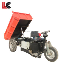 China tipper three wheel motorcycle / 2 ton cargo tricycle