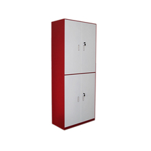 Metal 4 Doors Filing Cabinet Steel 2 Tier File Storage Cabinet With Adjustable Shelves SFS-W-146