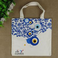 wholesale promotional heavy duty cotton canvas shopping tote bag
