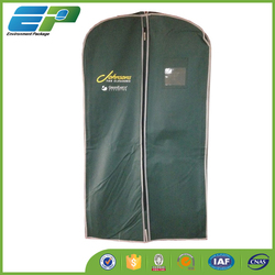 Eco-friendly nonwoven garment bag for mens suit
