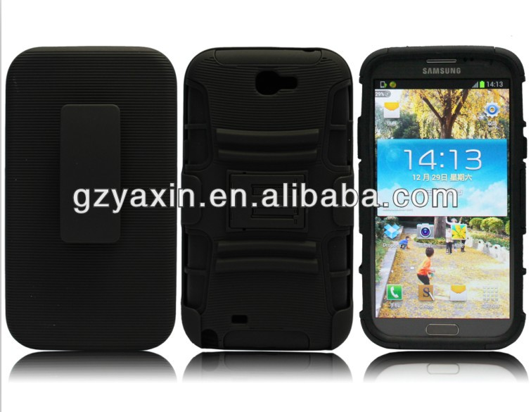 cell phone case display rack,promotional black rubber silicone cell phone cover for samsung galaxy note 2