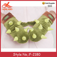 F-2180 new winter warm cute lady fashion led gloves for party wholesale from china