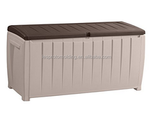 LESP-All Weather Outdoor Resin Horizontal Storage Shed