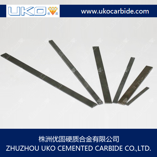 tungsten carbide strips are widely used in carbide tool parts in machines