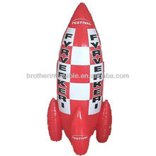 Rocket Advertising Inflatable Toys