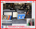 Electrical wire protect plastic corrugated tube making machine