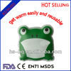 frog shaped instant heap pad