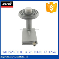 ku band prime focus lnb single/dual output lnb ku band