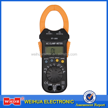 Digital clamp meter DT203 with Auto-range