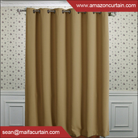 "Best Home Fashion Thermal Insulated hotel curtains blackout , Back Tab, Rod Pocket 52""W x 63""L"