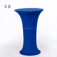 Wholesale China cocktail cover, cocktail cloth, banquet & wedding table cover high - foot table cloth