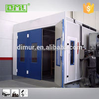 Industrial paint equipment removable plastic car paint/spray paint booth