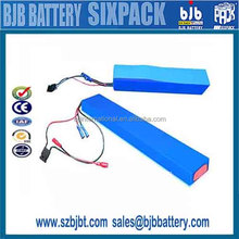 Rechargeable 13S4P 48v 8.8Ah18650 battery pack for electric vehicle