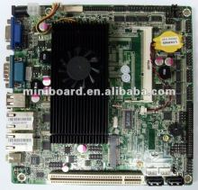 Mini-ITX Motherboard based Intel ATOM D525 support 10COM and RS485