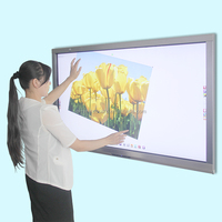 Cheapest Led Touch Screen Interactive Whiteboard, 55 Inch Android Hd 1080p Led Smart Tv Television