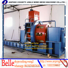 Professional Factory Automatic Machinery Wedge Wire Cylindrical Screen Welded Wire Mesh Machine