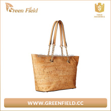 China alibaba shop cork tote bag customized logo canvas soft cork bag