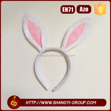 Simple fashion children party makeup personalized rabbit ear headband