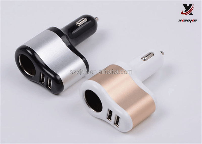 Mobile Accessories Promotional Double USB Car Charger /2.1A dual USB car charger