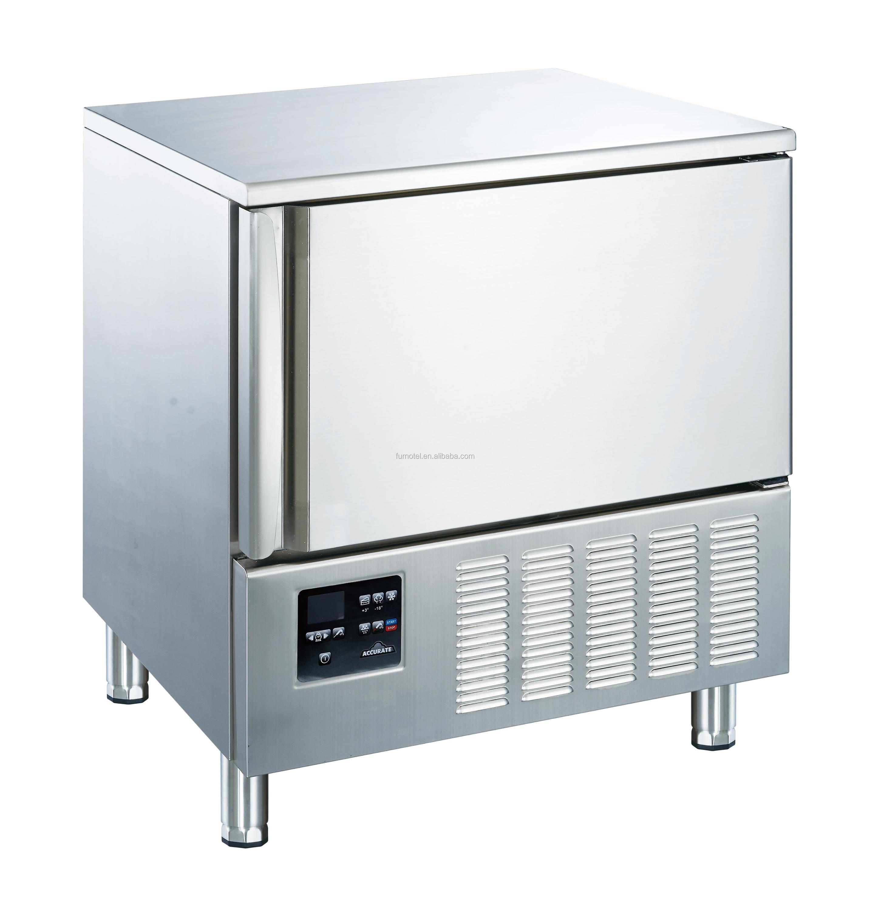 Furnotel 115L 5 Pans Small Cryogenic Chicken Blast Freezer For Sale