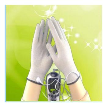 Silver fiber conductive spa gloves