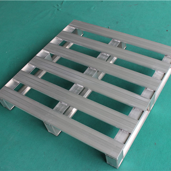 Anti-slip Reusable Transport Aluminum Pallets Chemical Industry