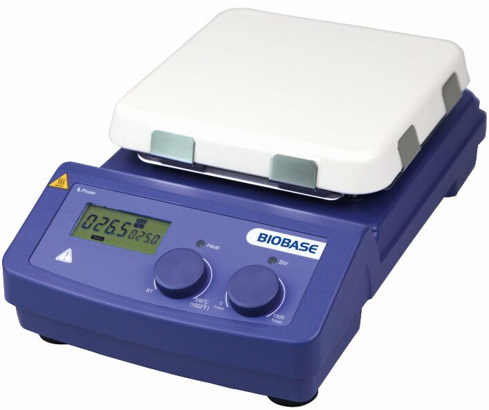 Electric Ceramic Hot Plate MS7-H550-Pro Magnetic LED Digital Hotplate Stirrer for Laboratory Experiment
