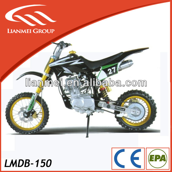 poweful dirt bike 150cc with EPA certificate
