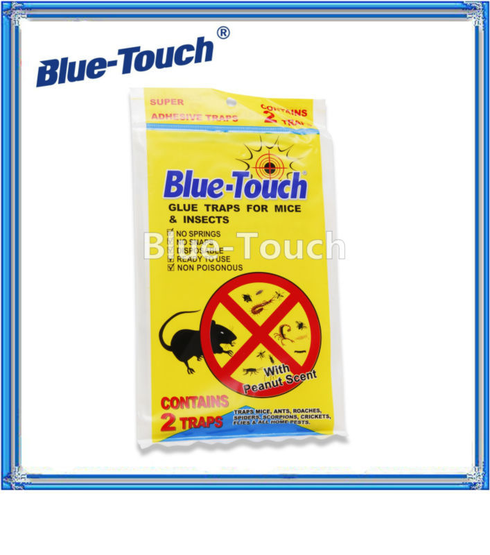 EPA Certificated blue-touch rat glue sticky fly paper for pest control services