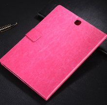 tablet leather case flip cover wallet case for samsung Galaxy Tab A 8.0 /9.7 /10.1 inch flip case many color