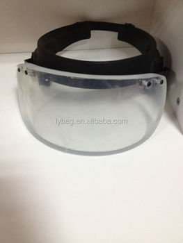 Bullet Proof Visor for security