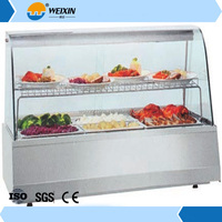 Electric Heated Bakery Food Warmer Display Cabinet
