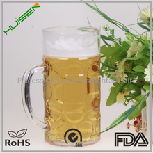 Clear Polystyrene Pilsner Drinking Glass of Beer 250 ml
