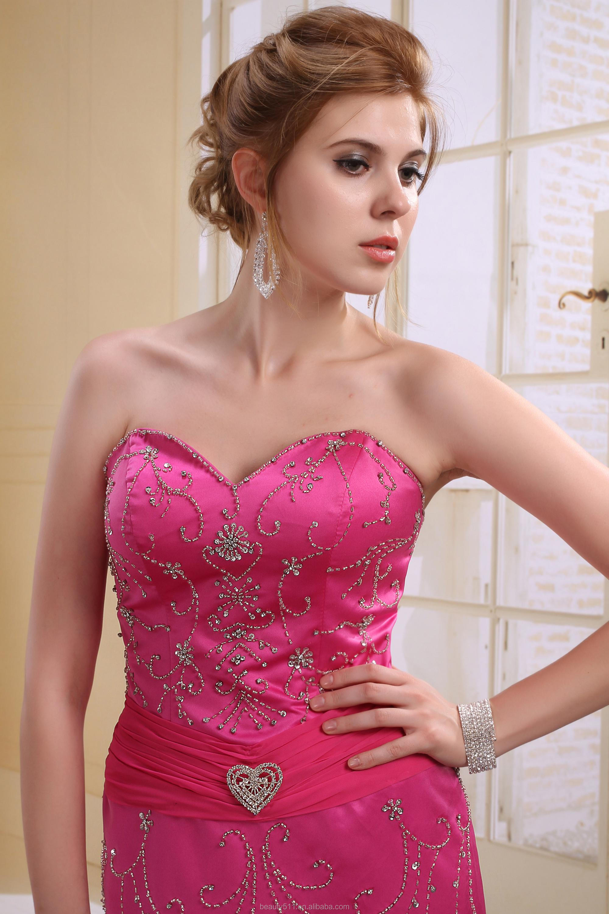 A-line Princess High Neck Asymmetrical Sweep Party Prom Formal Evening Holiday Dress X251