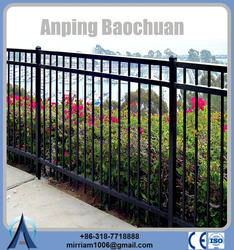 hot dip galvanized powder coated wrought iron fence finials