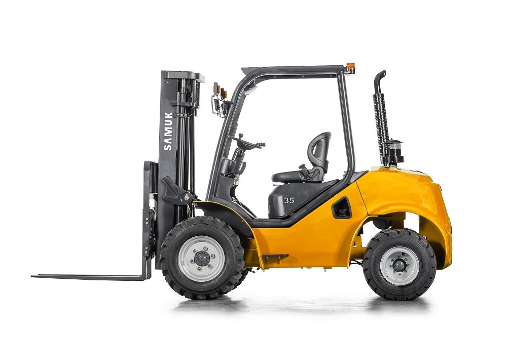 1.8ton Samuk Rough terrain Forklift with YANMAR4TNE98 engine