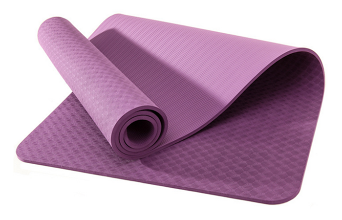 High Performance new pattern jade color TPE yoga mat