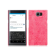 2017 Gadgets Smartphone Luxury Crocodile Grain Light Faux Leather Back Cover For <strong>Blackberry</strong> Priv <strong>Case</strong>