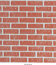 hot style FS-813-1 brick textured wall panel in mdf