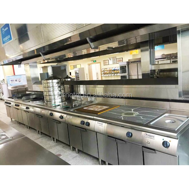 All Styles Hot Chinese Restaurant Kitchen Equipment (ce