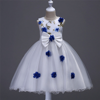 Latest Patterns Fairy Frocks Princess Design Children Party Dress for Little Girls