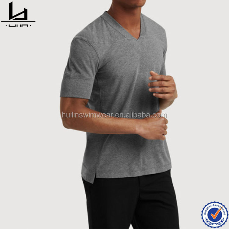 Wholesale design custom super soft t shirt high quality fashion muscle fit t shirt