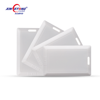 Proximity Card 2.4G Active RFID Tag RFID Card for student attendance system