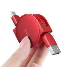 High Quality Cafele Retractable Micro USB Cable Data USB Charger Cable for iPhone