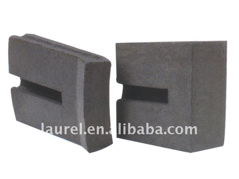 carborundum brick for tank liners molten aluminum tube and ceramic kiln,blast furnace