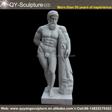 Factory Price World Famous Antique Marble Statue For Sale Marble Nude Men Statue